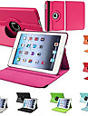 Durable Flip-open PU Leather Full Body Case with 360 Degree Rotation Stand for iPad 2/3/4