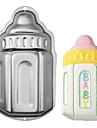 네-C 아기 병 모양 알루미늄 케이크 베이킹 팬 금형, 케이크 베이킹 도구, 내열 접시 금속, 베이킹 용품