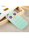 For iPhone 6 Case / iPhone 6 Plus Case Shockproof Case Back Cover Case 3D Cartoon Soft Silicone iPhone 6s Plus/6 Plus / iPhone 6s/6