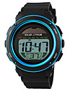 SKMEI® Men's Solar Power Digital Sports Watch Alarm Calendar Stopwatch Cool Watch Unique Watch Fashion Watch