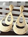 여성 드랍 귀걸이 스테이트먼트 쥬얼리 패션 의상 보석 도금 골드 합금 보석류 제품
