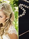 Женский Сплав металлов Заставка-Особые случаи На каждый день на открытом воздухе Цепочка на голову Заколки для волос Шпилька 1 шт.