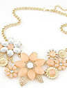 Necklace Choker Necklaces / Statement Necklaces Jewelry Alloy Party / Daily / Casual Beige / Pink 1pc Gift