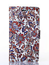 Classical Flowers Pattern PU Leather Full Body Case with Stand for Multiple Samsung Galaxy Note3/Note4
