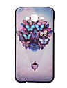 For Samsung Galaxy Case Pattern Case Back Cover Case Butterfly PC Samsung J7 / J5