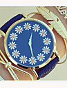 Women\'s Lovely Floral Watch,Floral Pattern,Women\'s Watch,Analog,Students Flower Watch Wristwatch Cool Watches Unique Watches Fashion Watch Strap Watch