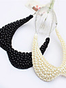 Alloy/Imitation Pearl/Fabric Necklace Collar Necklaces Wedding/Party/Daily/Casual 1pc