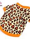 Коты Собаки Футболка Толстовка Коричневый Одежда для собак Зима Весна/осень Матовый черный Мода
