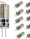 10pcs HRY® 3W G4 48XSMD3014 300LM LED Bi-pin Lights(DC 12V)