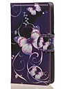 For Nokia Case Case Cover Wallet Card Holder with Stand Full Body Case Butterfly Hard PU Leather for NokiaNokia Lumia 640 Nokia Lumia 640