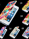 Warm-toned Colorful PU Leather Full Body Case for iPhone 4/4S (Assorted Color)