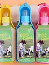 FUN OF PETS® Portable Pets Drinking Water Bottle for Pet Dogs and Cats (Assorted Colors)  300ML