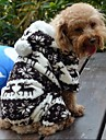 Dog / Cat Coat / Hoodie / Pants Brown / Gray Winter Wedding / Cosplay