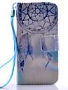 фиолетовый узор колокола пу материала шнур стенд телефон случае для Samsung Galaxy s3mini / s4mini / s5mini / S5 / S6 / S6 край / s6 края