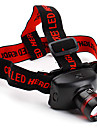 Lights Headlamps / Headlamp Straps LED 800 Lumens 2 Mode Cree XP-E R2 AAA Adjustable FocusCamping/Hiking/Caving / Everyday Use / Hunting