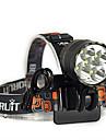 Lanternas de Cabeca Luzes de Bicicleta LED 7000 Lumens 3 Modo Cree XM-L T6 18650.0 Resistente ao Impacto Recarregavel Impermeavel