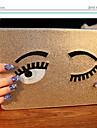 encantadores ojos grandes cubierta de la caja protectora para el ipad 2/3/4 (colores surtidos)