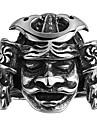 Кольца Без камня Повседневные Бижутерия Сталь Мужчины Кольцо 1шт,8 9 10 11 Черный