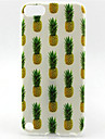 motif d\'ananas de peinture TPU etui pour iPod Touch 5