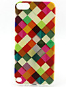 pattern pintura estrutura TPU soft case para o iPod touch 5