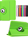 topp kvalitet smart stativ 360 roterende laer staa flip case for Apple iPad mini 4 deksel
