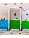 New Panda Lliquid Dynamic Transparent Anti Fall Cases for iPhone 5/5S(Assorted Colors)