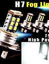 4PCS Super White Car H7 High Power 15W DRL Fog/Driving LED Light 800LMS Aluminum