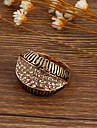 Retro Alloy / Zircon Ring Statement Rings Wedding / Party / Daily / Casual 1pc