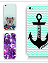 For iPhone 5 Case Pattern Case Back Cover Case Anchor Hard PC iPhone SE/5s/5
