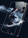 HD Fingerprint-Proof Transparent Scratch-Proof Glass Film for iPhone 5/5S