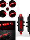 4 Modes High Brightness LED USB Rechargeable Mountain Road Bicycle Rear Tail Light Back Lamp Waterproof Safety