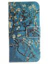 Pour Samsung Galaxy Coque Porte Carte Portefeuille Avec Support Clapet Motif Coque Coque Integrale Coque Fleur Cuir PU pour Samsung J3 J2