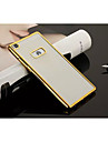 For Huawei Case / P8 / P8 Lite Plating / Ultra-thin / Transparent Case Back Cover Case Solid Color Soft TPU HuaweiHuawei P8 / Huawei P8