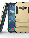 Super Protection 3 in1 TPU+PC+Stand Case For Samsung Galaxy J1 Ace Shockproof Back Cover Case