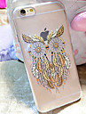 For iPhone 6 Case / iPhone 6 Plus Case Transparent / Pattern Case Back Cover Case Owl Soft TPU iPhone 6s Plus/6 Plus / iPhone 6s/6