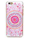 용 아이폰6케이스 / 아이폰6플러스 케이스 패턴 케이스 뒷면 커버 케이스 꽃장식 하드 PC iPhone 6s Plus/6 Plus / iPhone 6s/6