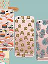 Para Capinha iPhone 5 Ultra-Fina / Transparente / Estampada Capinha Capa Traseira Capinha Azulejos Macia TPU iPhone SE/5s/5