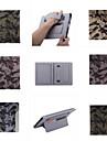 ультратонкий камуфляж стиле кожаный чехол мода прохладный с пояса карты держатель чехол для IPad мини 3/2/1 (ассорти цветов)
