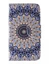 Pour Samsung Galaxy Coque Porte Carte Portefeuille Avec Support Clapet Motif Coque Coque Integrale Coque Fleur Cuir PU pour SamsungJ5 J2