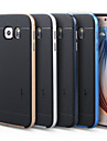High Quality 2 in 1 Hybrid TPU+PC Hard Case for Samsung Galaxy S6