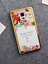 For Samsung Galaxy Note Pattern Case Back Cover Case Flower TPU Samsung Note 5 / Note 4