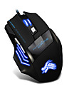wired jogo do rato 6 Botão levou rato óptico para jogos gamer