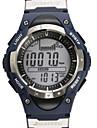 Herren / Damen / Unisex Armbanduhr digitalLCD / Hoehenmesser / Thermometer / Kalender / Chronograph / Wasserdicht / Duale Zeitzonen /