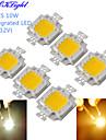YouOKLight® 6PCS DIY 10W 820-900LM 900mA Warm White Light / Cool White Light Integrated LED Module (DC 9-12V)