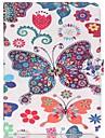 Pour Samsung Galaxy Coque Portefeuille / Porte Carte / Avec Support / Clapet / Motif Coque Coque Integrale Coque Papillon Cuir PU Samsung