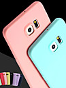 Pour Samsung Galaxy Coque Autre Coque Coque Arriere Coque Couleur Pleine Silicone pour Samsung S6 edge plus S6 edge S6 S5 S4 S3