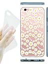 For iPhone X iPhone 8 iPhone 5 Case Case Cover Transparent Pattern Back Cover Case Flower Soft TPU for iPhone X iPhone 8 Plus iPhone 8