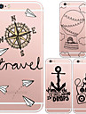 MAYCARI®Direction Soft Transparent TPU Back Case for iPhone 6s 6 Plus