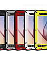 Love Mei® Luxury All Metal Aluminum Waterproof Shockproof Gorilla Cover Case for Samsung Galaxy S6 G9200(Assorted Color)