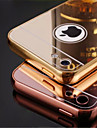Metal Frame and Mirror Plating Backplane Cell Phone Case  for iPhone 5C (Assorted Colors)